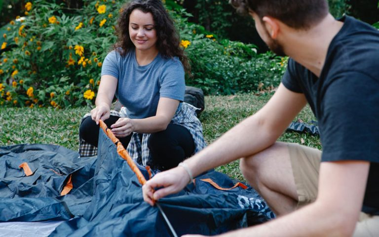 How to Patch a Canvas Tent