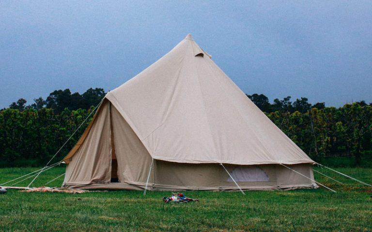 How to Season a Canvas Tent